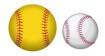 Little League softball and baseball